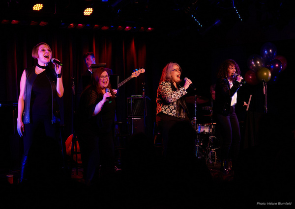Photos: The Cast of THOSE GIRLS Celebrates Karen Mack's Birthday at The Laurie Beechman