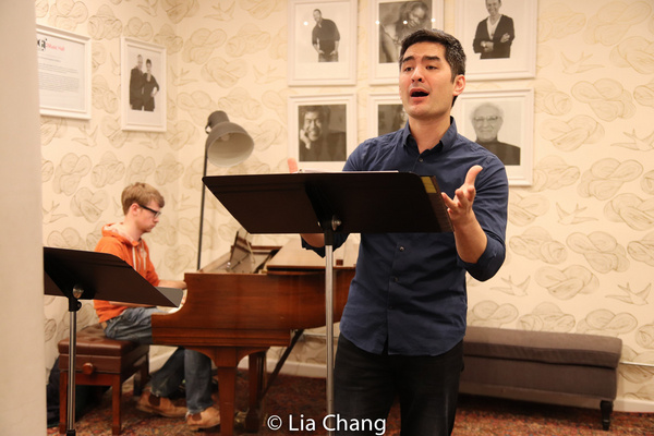Photo Flash: In Rehearsal For Prospect Theater Company's THIS SIDE OF THE WORLD Concert