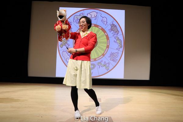 Photos: Alan Muraoka and SESAME STREETMuppeteers Jennifer Barnhart and Kathy Kim Celebrate Year Of The Rat At The Met