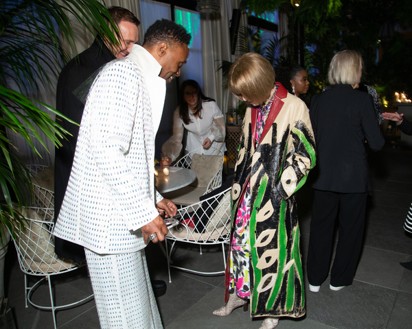 Billy Porter, Anna Wintour Photo