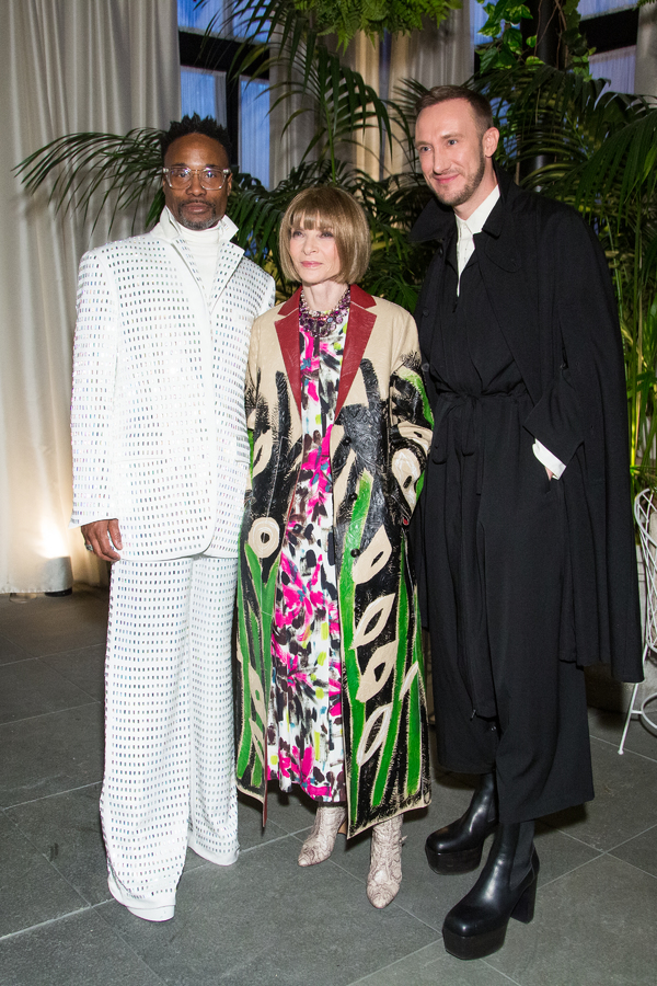Billy Porter, Anna Wintour, Adam Porter Smith Photo