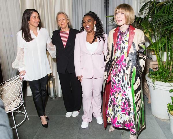 Tali Pelman, Phyllida Lloyd, Katori Hall, Anna Wintour Photo