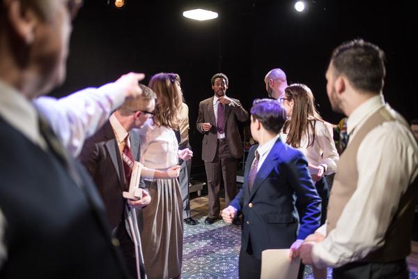 Photo Flash: Broken Nose Theatre's LABYRINTH