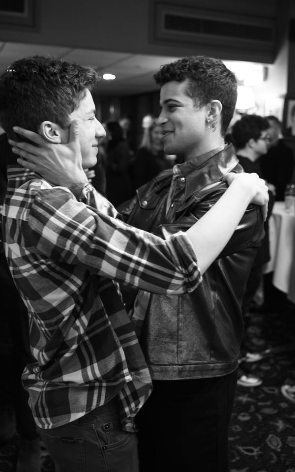Andrew Barth Feldman and Jordan Fisher Photo