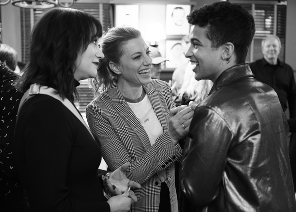 Eden Espinosa, Jessica Phillips and Jordan Fisher Photo