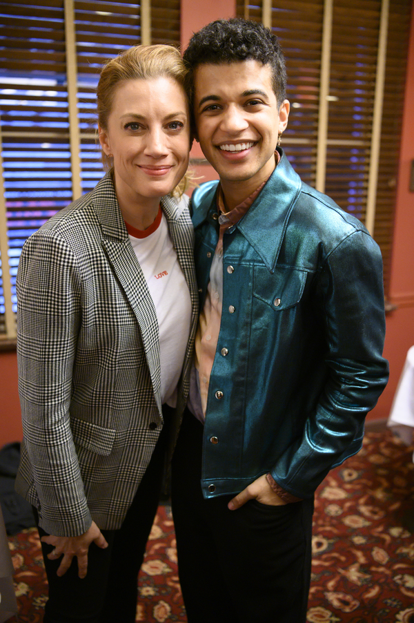 Jessica Phillips and Jordan Fisher Photo