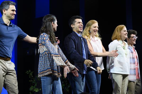 Photo Flash: Jordan Fisher and Friends Celebrate Opening Night in DEAR EVAN HANSEN