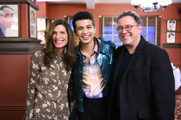 Stacey Mindich, Jordan Fisher and Michael Greif