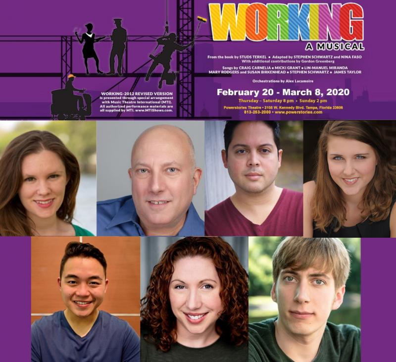 BWW Previews: INAUGURAL MUSICAL, WORKING, A MUSICAL DEBUTS TO CELEBRATE 20TH ANNIVERSARY at Powerstories Theatre