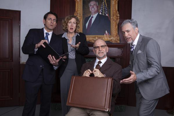 Christopher M. Williams, Shana Wride, Louis Lotorto, and John Seibert Photo