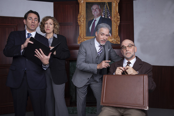 Christopher M. Williams, Shana Wride, Louis Lotort, and John Seibert Photo