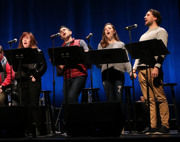 Debbie Gravitte, Santino Fontana, Laura Osnes, Will Swenson Photo