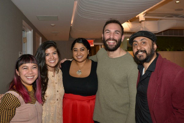 Laura Dadap, Ari Afsar, Anu Musore, Danny Burgos and Deep Singh Photo