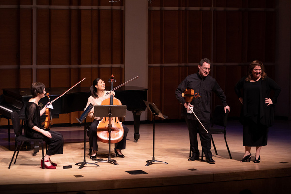Allison Charney and Daniel Panner discuss the art of playing chamber music with Miran Photo