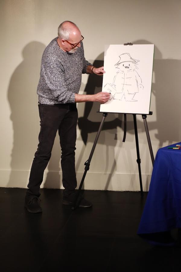 Photo Flash: Paddington Illustrator R.W. Alley Visits PADDINGTON GETS IN A JAM