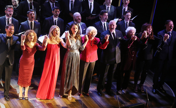 Michael Feinstein, Bernadette Peters, Kelli O'Hara, Sutton Foster, Betty Buckley, Ron Photo