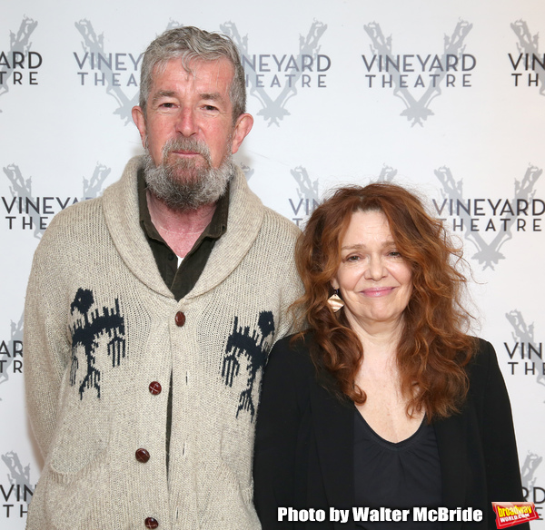 Director Les Waters and actress Deirdre O'Connell  Photo