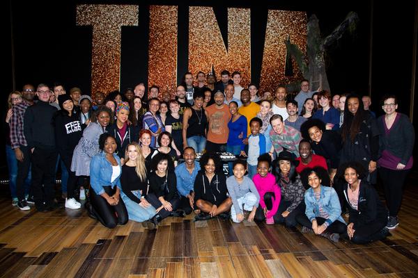 Photo Coverage: TINA Cast Celebrates 100 Performances on Broadway!