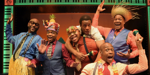 BWW Review: At Westchester Broadway Theatre, FIVE GUYS NAMED MOE Got Mucho Mojo Photo