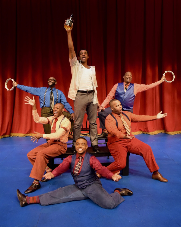Photo Flash: Westchester Broadway Theatre Presents FIVE GUYS NAMED MOE
