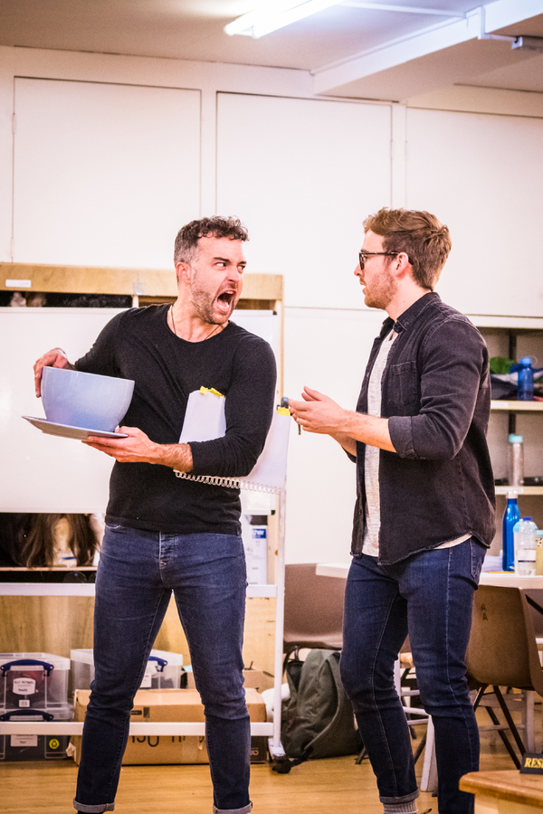 Photos: First Look at Rehearsals for the New UK Tour of FRIENDSICAL