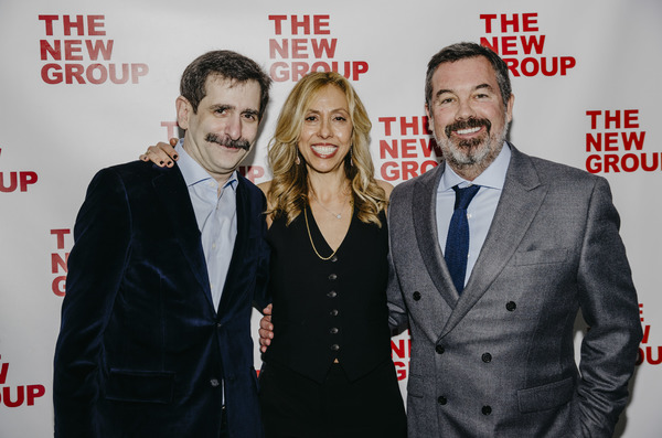 Jonathan Marc Sherman, Amanda Green & Duncan Sheik Photo