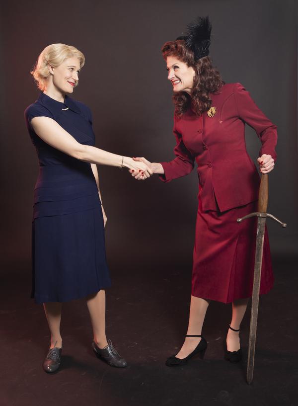 Madeleine Maby and Tina Stafford