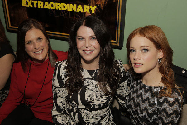 Lisa Katz, Co-President, Scripted Programming, NBC Entertainment; Lauren Graham, Jane Levy