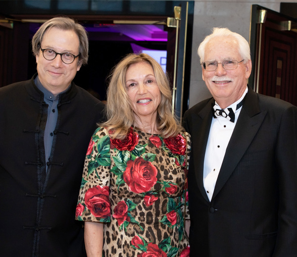 Palm Beach Opera Chief Conductor David Stern, Roseanne and Dennis Williams