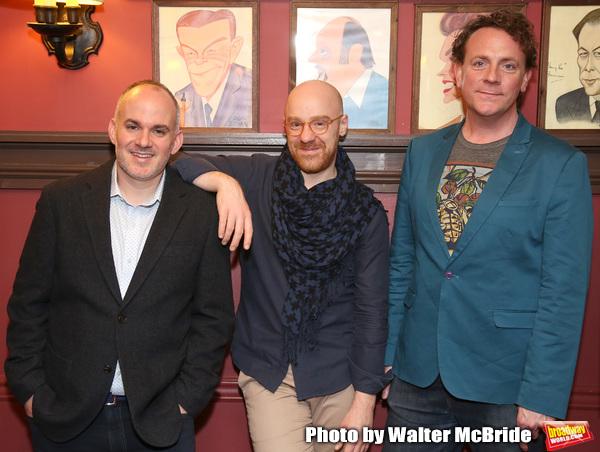 Zachary Laks, TomDe Trinis and Drew Droege Photo