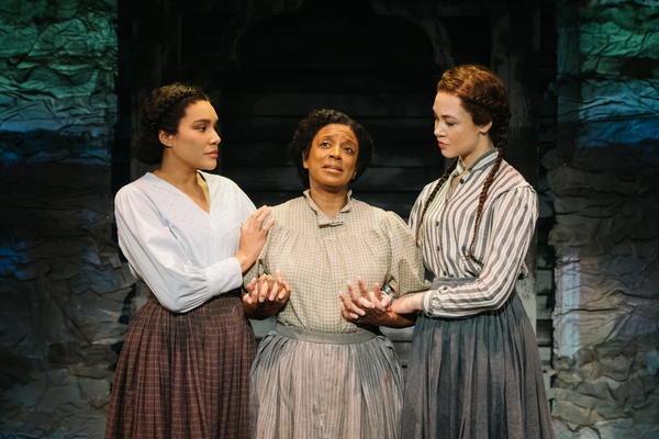 Emmy Raver-Lampman, Marva Hicks, Solea Pfeiffer
