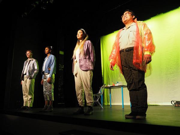 Ethan Carlson, Nina Jayashankar, Stephanie Fongheiser and Ryan Frenk Photo