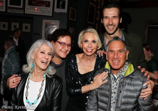 Jamie de Roy, Julie Halston, John Behlmann, Robert Horn Photo
