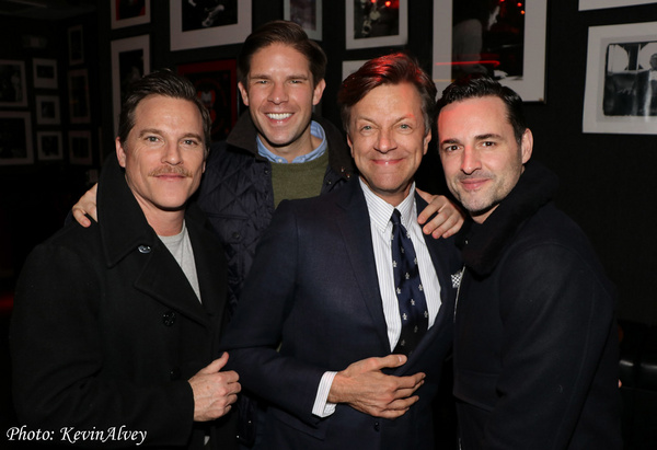 Mike Doyle, Frank DiLella, Jim Caruso, Max von Essen Photo