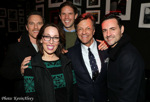 Mike Doyle, Susie Mosher, Frank DiLella, Jim Caruso, Max von Essen Photo