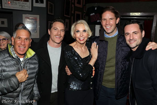 Robert Horn, Mike Doyle, Julie Halston, Frank DiLella, Max von Essen Photo