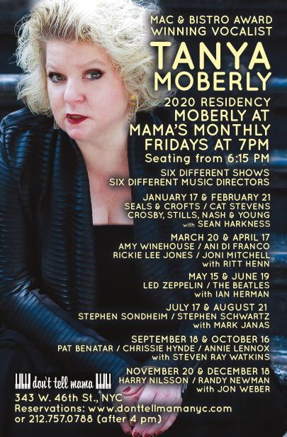BWW Interview: Tanya Moberly of MOBERLY AT MAMAS MONTHLY at Don't Tell Mama