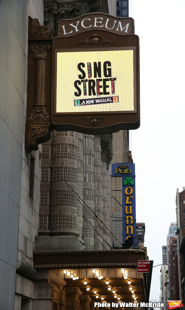 Up On The Marquee: SING STREET Lands at the Lyceum Theatre!