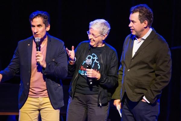 Seth Rudetsky, Mary Keane, James Wesley Photo
