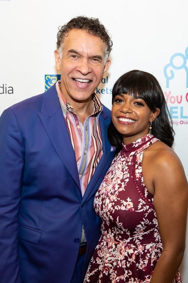 Brian Stokes Mitchell and Ta'Nika Gibson Photo