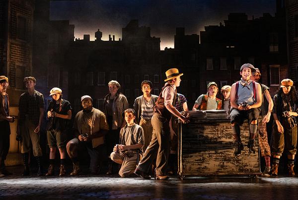 Photo Flash: NEWSIES Opens at Westport Country Playhouse Tonight