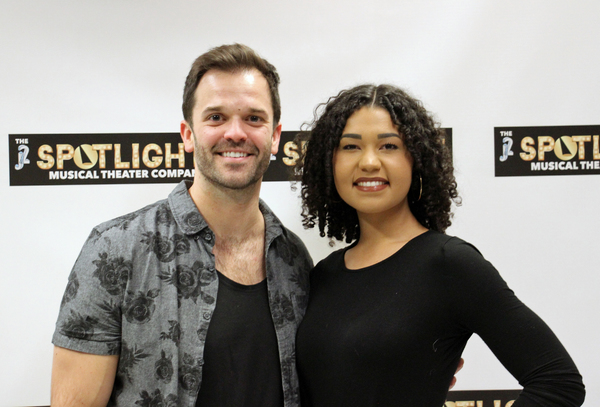 Photo Flash: The Cast of NO STRINGS From J2 Spotlight Musical Theater Company Meets the Press!