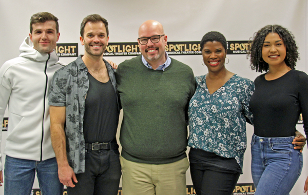 Photos: The Cast of NO STRINGS From J2 Spotlight Musical Theater Company Meets the Press!