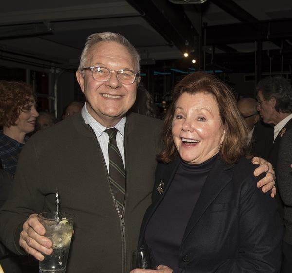 Walter Bobbie, Marsha Mason Photo