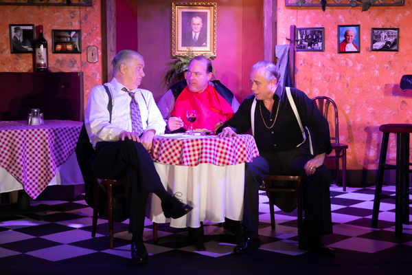 Photo Coverage: First look at Bruce Jacklin & Co's BREAKING LEGS