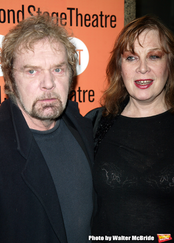 Kevin Conway and Geraldine Newman attending the Opening Night Performance of THE LITT Photo