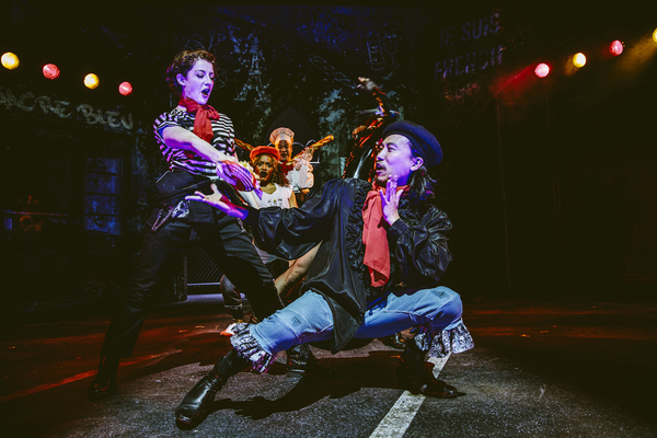 Photo Flash: First Look at REVENGE SONG: A VAMPIRE COWBOYS CREATION at Geffen Playhouse