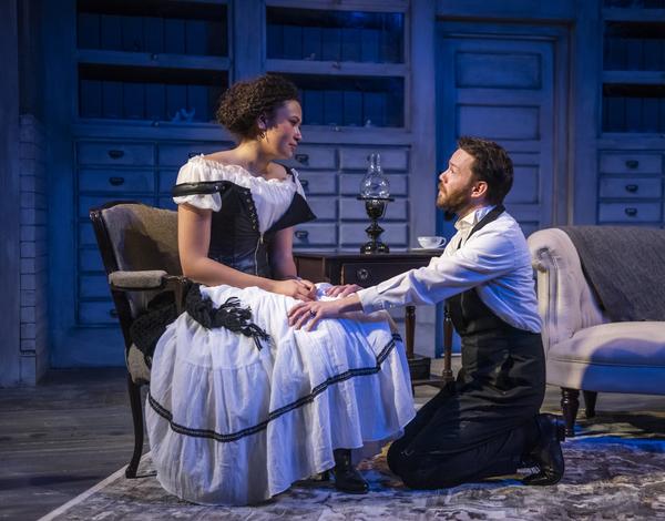 Amira Danan and Gage Wallace  Photo