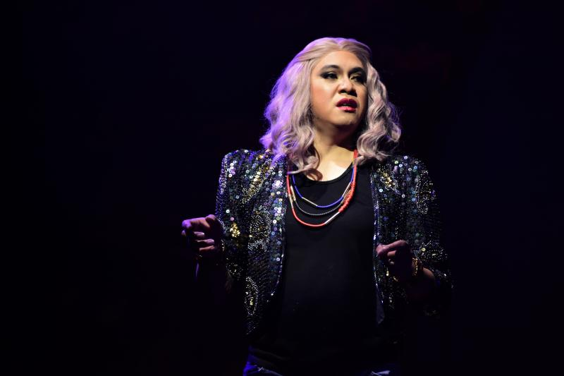 PHOTOS: PETA's UNDER MY SKIN Opens; Cherry Pie Picache Leads the Cast