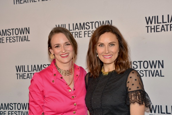 Dawn Landes and Laura Benanti Photo